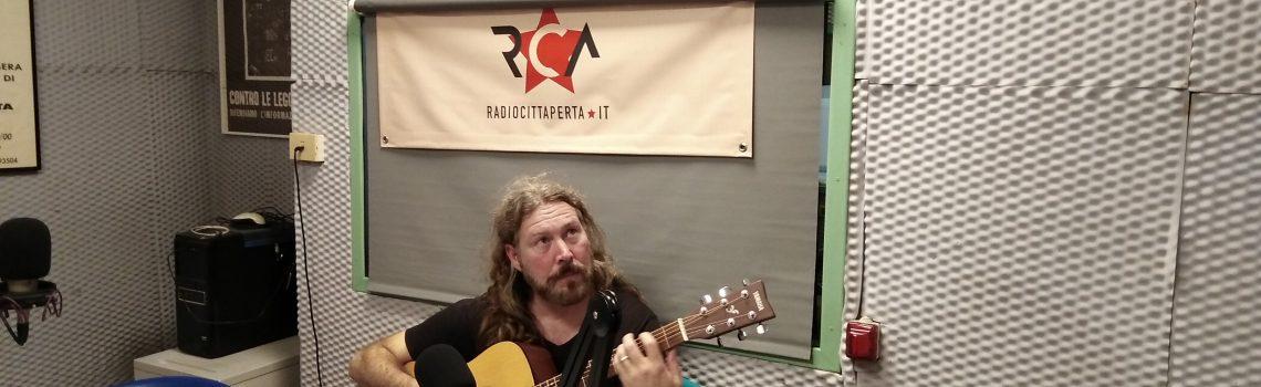 Intervista e live set Buck Curran 21-10-2019