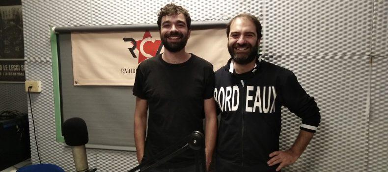 Intervista e live set a rca Nico Sambo 16-10-2019