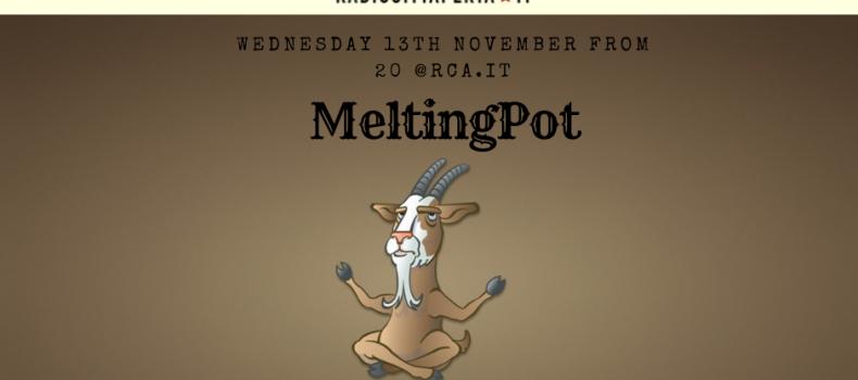Playlist e Podcast della puntata di MeltingPot del 13-11-2019