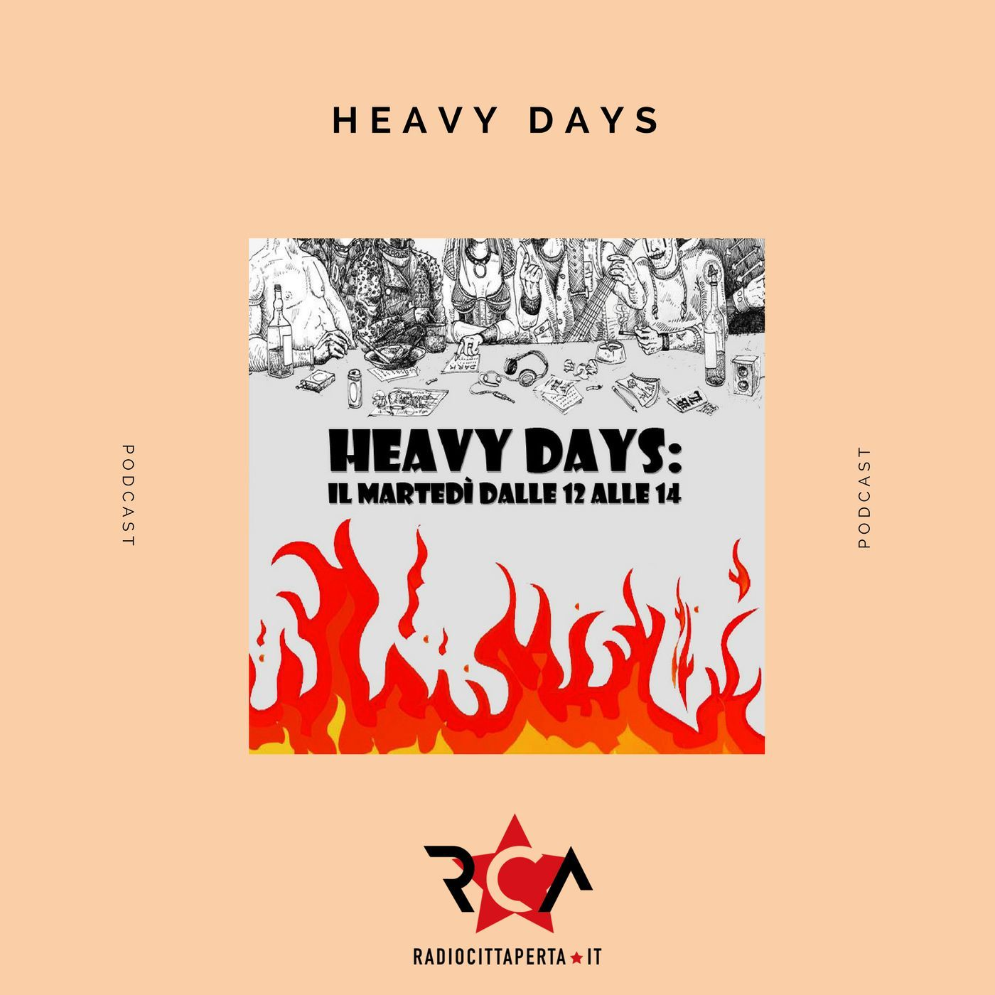 HEAVY DAYS con VINCENZO PRESUTTI del 3-12-2019