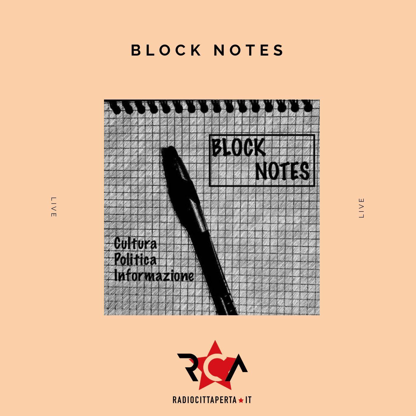 BLOCK NOTES con ALESSIO RAMACCIONI
