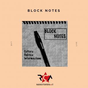 BLOCK NOTES con ALESSIO RAMACCIONI del 18-02-2020