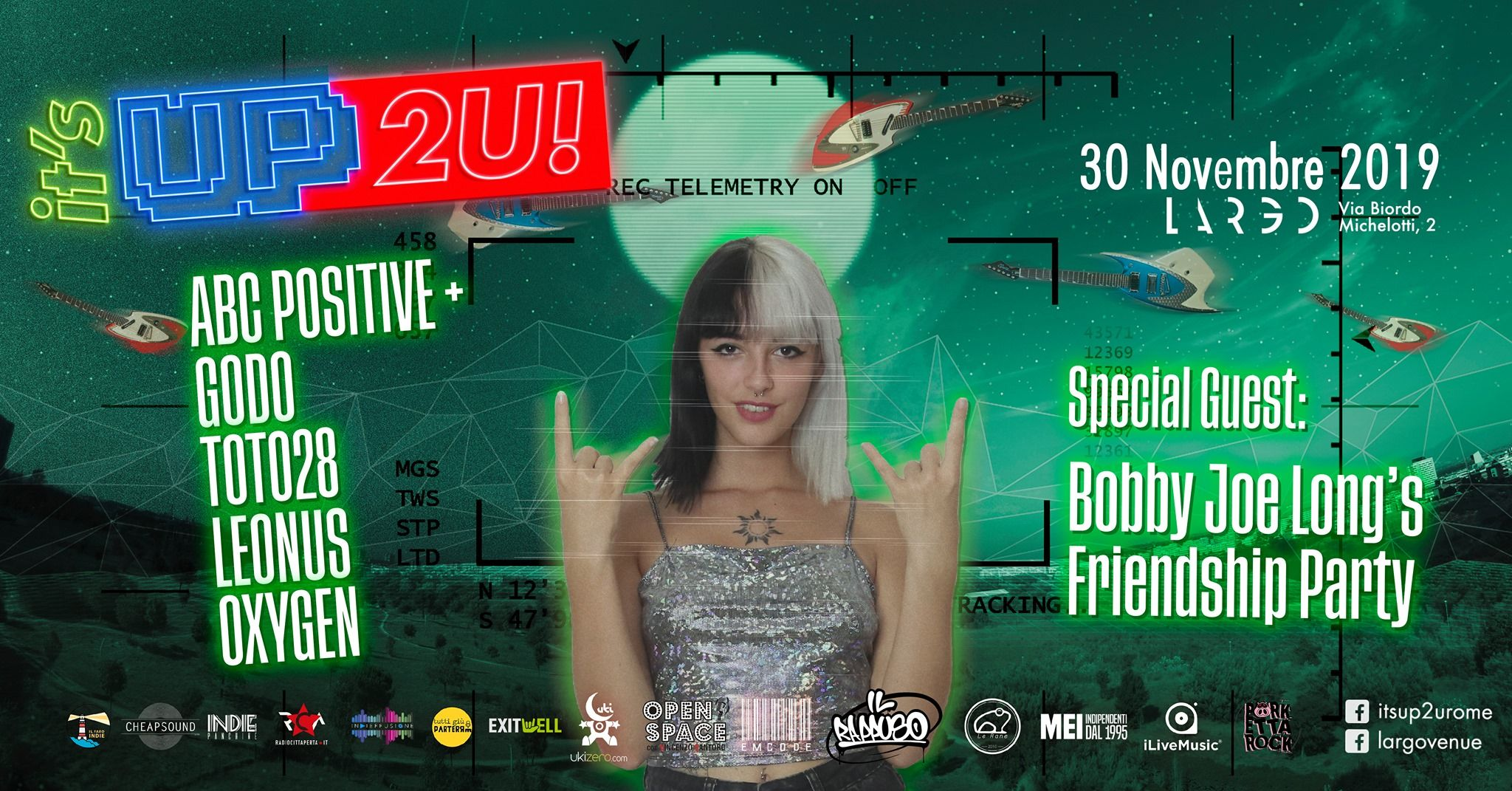 It's Up 2U! – III° edizione – Terza serata